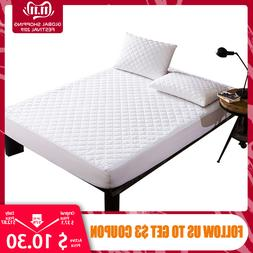Bed Cover Brushed Fabric Quilted <font><b>Mattress</b></font