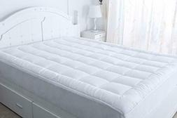 Best Mattress Pad Cover King Size Pillow Top Topper Thick Lu