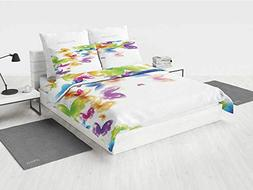 Butterfly Bed King Size Comforter Set Group of Butterflies B