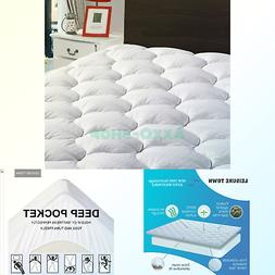 LEISURE TOWN Cal King Mattress Pad Cover Cooling Mattress To