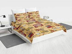 Cars Bedding Comforter Sets Steampunk Inspired Vintage Means