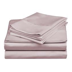 Superior 100% Premium Combed Cotton, 300 Thread Count 4-Piec
