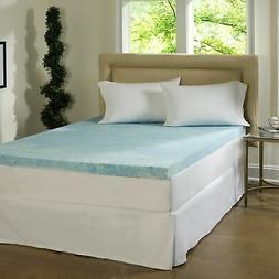 ComforPedic Loft from Beautyrest 2-inch Flat Gel Memory Foam