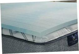 Comfort Cool 1.5-in Gel Memory Foam Mattress Topper, Queen