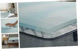 Comfort Cool 1.5-in Gel Memory Foam Mattress Topper, Full