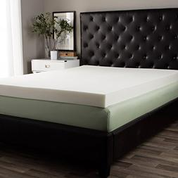 Comfy 5-inch Memory Foam Mattress Topper in Multiple Sizes,