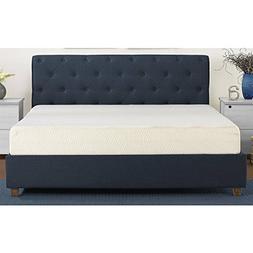 Comfy Comfortable White 8-inch Memory Foam Mattress in Multi
