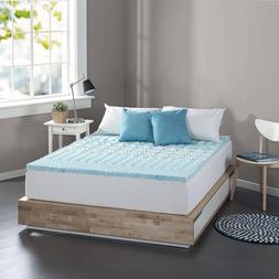 Cooling Gel Memory Foam Mattress Topper Pad Bed 5-Zone Queen