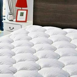 Cooling Mattress Topper Cotton Top Pillow Cover With Snow Do