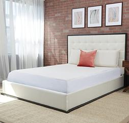 Air Cooled Gel Memory Foam Mattress Topper & Cover Permanent