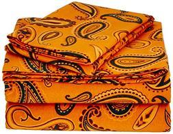 Superior Premium Cotton Flannel Sheets, All Season 100% Brus