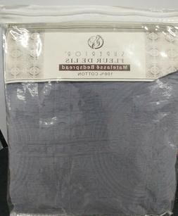 Superior 100% Cotton Medallion Bedspread with Shams, All-Sea