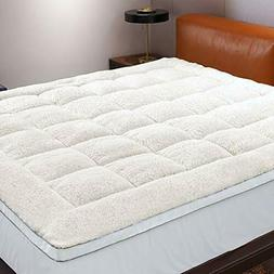 D & G THE DUC.K AND GOOSE CO Reversible Mattress Topper , Pe