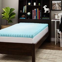 Slumber Solutions Dorm 3-inch Twin XL-Size Textured Gel Memo