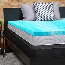 Sealy Essentials 2-Inch Gel Memory Foam Mattress Topper 5 YR