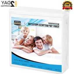 Extra Plush Mattress Topper Cover Pad Hypoallergenic King.Si