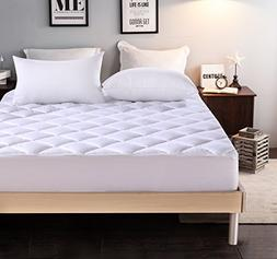 """Everest EXTRA THICK Mattress Pad Queen size 60""""x80""""+18 Hypoa"""