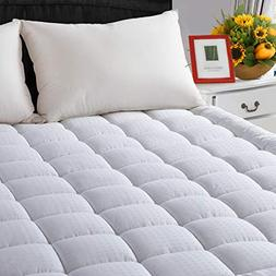 LEISURE TOWN Full Cooling Mattress Pad Cover-Fitted Quilted