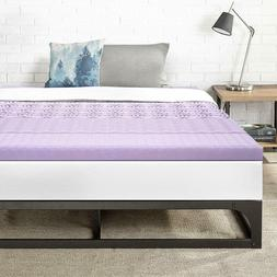 Best Price Mattress Twin 3 Inch 5-Zone Memory Foam Bed Toppe