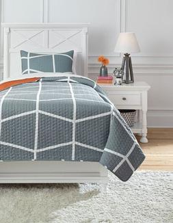 gage coverlet set twin gray