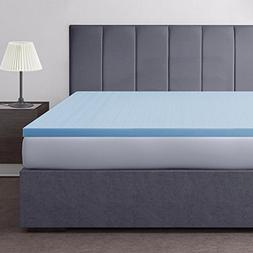 """Hotel Comfort 2"""" Gel Infused Aerated Foam Mattress Topper"""