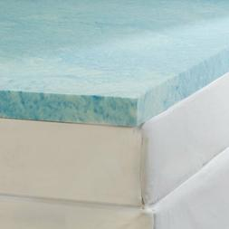 Soft Sleeper Gel Infused Queen Size 3 inch Thick Memory Foam