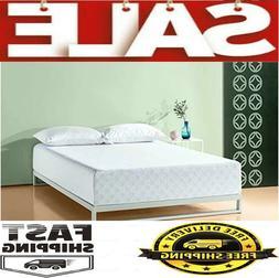 Zinus 6-8-10-12 Inch Gel-Infused Green Tea Memory Foam Mattr