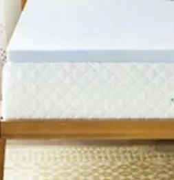 LINENSPA 2 Inch Gel Infused Memory Foam Mattress Topper - Tw