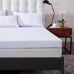 """Comfort & Relax 3"""" Gel Memory Foam Mattress Topper CAL-KING,"""