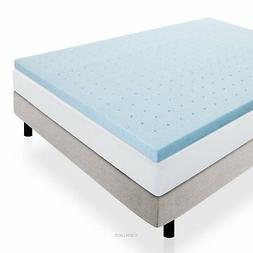 gel infused ventilated memory foam