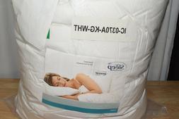 gel memory foam mattress topper king white