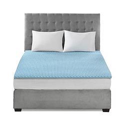 Sleep Philosophy Gel Memory Foam Mattress Protector Cooling
