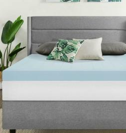 "Best Price Mattress 4"" Gel Memory Foam Mattress Topper, Full"