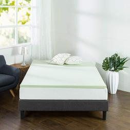Zinus Green Tea Memory Foam Mattress 2 Inches Topper Queen K