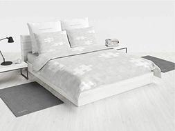 iPrint 4 Pc Duvet Cover Set - Grey,Pattern Ultra Soft Beddin