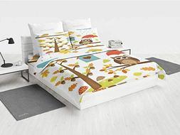 Nature Harry Potter Bedding Set Cartoon Art Print for Kids T