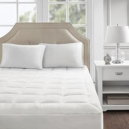 Madison Park Cloud Soft Overfilled Plush Bed Protector Water