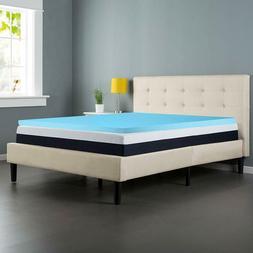 Continental Sleep High Density Gel Foam Topper, Full Size