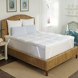Rio Home Fashions FB-007-8CK 3 inch Mattress Topper/Feather