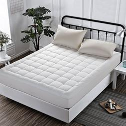 INGALIK Hotel Luxury Collection Quilted Fitted Mattress Topp