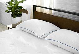 Sleep Innovations 2 Pack Hotel Premium Shredded Gel Memory F