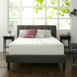 Zinus Hybrid Green Tea Foam and Spring Mattress- ALL SIZES A