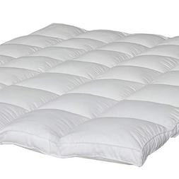 "Mattress Topper Queen Size 2"" Thick Quilted Hypoallergenic A"