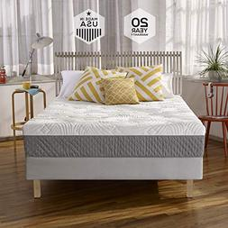 Sleep Innovations Shea 10' Memory Foam Mattress, Queen