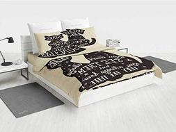 Inspirational DBZ Bedding Set Cat and Dog Silhouettes with F