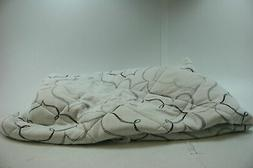 Sleep Innovations Instant Pillow Top Memory Foam and Fiber M