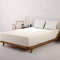 Sleep Joy 2 ViscO2 Ventilated Memory Foam Mattress Topper, T