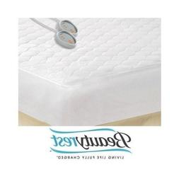 Beautyrest King Size Heated Mattress Pad with Dual Control a