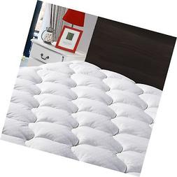 LEISURE TOWN King Overfilled Mattress Pad Cover-Cooling Matt