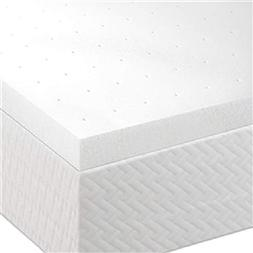 Svitlife King size 2-inch Thick Memory Foam Mattress Topper